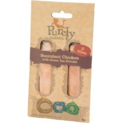 Purely Holistic Succulent Chicken With Green Tea Extract 2 Fillets 25G found on Bargain Bro UK from Pets at Home
