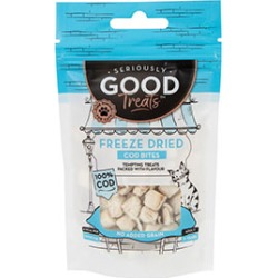 Seriously Good Freeze Dried Cat Treats Cod 10G found on Bargain Bro UK from Pets at Home