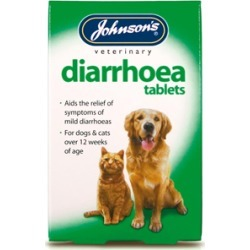 Johnson's Diarrhoea Tablets X 12 For Dogs And Cats