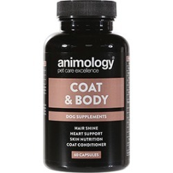 Animology Coat And Body Dog Supplements 60 Pack
