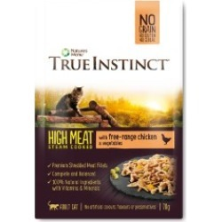 True Instinct Free Range Chicken Fillets For Cats 70G