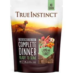 True Instinct Freeze-Dried Lamb And Turkey Dinner Complete Dog Food 120G