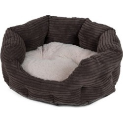 Pets At Home Jumbo Cord Choc Cat Oval Bed found on Bargain Bro UK from Pets at Home