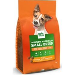 Pets At Home Complete Nutrition Small Breed Adult Dog Food Rich In Chicken 2Kg