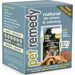 Pet Remedy Natural De-Stress And Calming New Home Kit