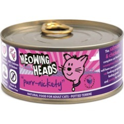Meowing Heads Purr-Nickety Complete Wet Food for Cats 100g