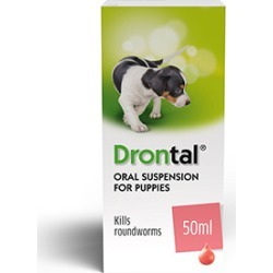 Drontal Worming Syrup For Puppies 50Ml found on Bargain Bro UK from Pets at Home
