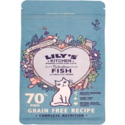 Lily's Kitchen Adult Fabulous Fish And Healthy Herbs Dry Complete Cat Food 200G