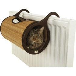 Jolly Moggy Bamboo Radiator Cat Bed found on Bargain Bro UK from Pets at Home