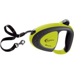 Flippy Tech Lime Retractable Tape Lead