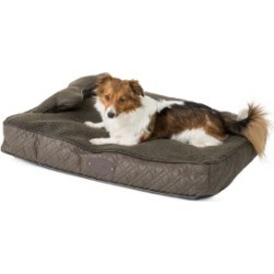 Wainwright's Quilted Mattress Dog Bed With Bone Pillow Khaki Medium found on Bargain Bro UK from Pets at Home