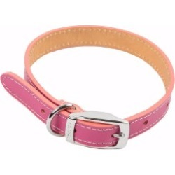Pets At Home Leather Dog Collar Small Pink found on Bargain Bro UK from Pets at Home