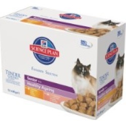Hill's Science Plan Feline Healthy Ageing Senior Mix Selection Pack 12 x 85g