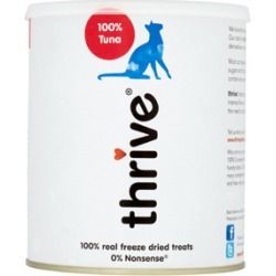 Thrive 100% Tuna Cat Treats 180G found on Bargain Bro UK from Pets at Home