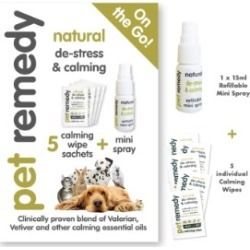 Pet Remedy On The Go Pet Calming Kit