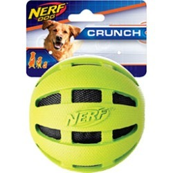 Nerf Dog Squeaky Tennis Ball And Tpr Lightning Led Ball Dog Toy 4 Pack