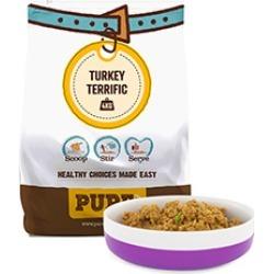 Pure Pet Food Dehydrated Raw Dog Food Turkey Terrific 4Kg (16Kg Rehydrated)