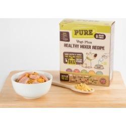 Pure Pet Food Dehydrated Raw Dog Food Vegi Plus 2Kg (8Kg Rehydrated)