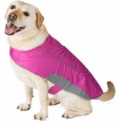 Ripstop Dog Jacket Berry Large