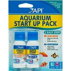 Api Stress Coat And Quick Start Aquarium Start Up Pack 37Ml 2 Pack