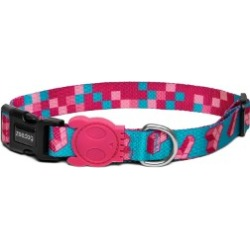 Zee Dog Tetris Dog Collar Small