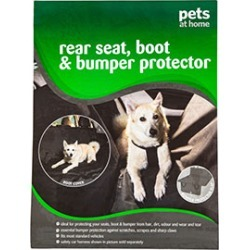 Pets At Home Rear Seat, Boot And Bumper Protector