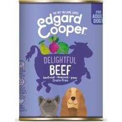 Edgardcooper Beef With Beetroot, Broccoli And Pear Adult Dog Food 400G