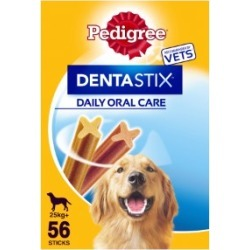Pedigree Dentastix Daily Dental Chews Large Dog Treats 56 Sticks