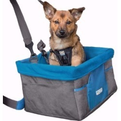 Kurgo Heather Dog Booster Seat For In-Car