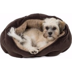 Trixie Malu Cuddly Cave Puppy And Kitten Bed Brown Small found on Bargain Bro UK from Pets at Home