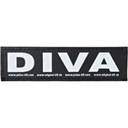 Julius-K9 Dog Harness Velcro Sticker Diva Small found on Bargain Bro UK from Pets at Home