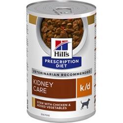 Hill's Prescription Diet K/D Adult Wet Dog Food Stew Chicken 354G