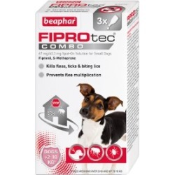 Beaphar Fiprotec Combo Spot On Treatment For Small Dogs