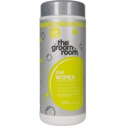 Groom Room Dog And Cat Ear Wipes 80 Pack