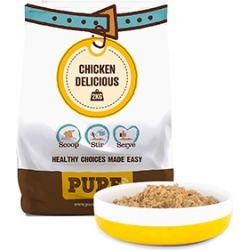 Pure Pet Food Dehydrated Raw Dog Food Chicken Delicious 2Kg (8Kg Rehydrated)