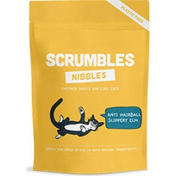 Scrumbles Grain Free Anti Hairball Nibble Cat Treats 60G found on Bargain Bro UK from Pets at Home