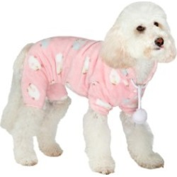 Urban Pup Baby Pink Counting Sheep Dog Onesie Medium found on Bargain Bro UK from Pets at Home