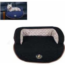 Scruffs Wilton Sofa Dog Bed Black Medium found on Bargain Bro UK from Pets at Home
