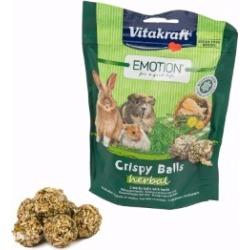 Vitakraft Emotion Crispy Balls Herbal Small Animal Treats 80g