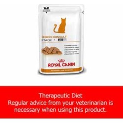 Royal Canin Feline Vet Care Nutrition Senior Consult Stage 1 48X100G found on Bargain Bro UK from Pets at Home