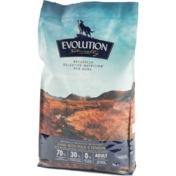 Evolution Naturally Complete Dog Food Game With Duck And Venison 7kg