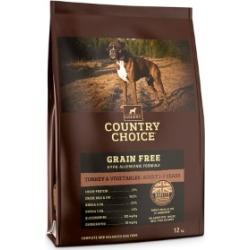 Gelert Country Choice Grain Free Turkey And Veg Dog Food 12Kg