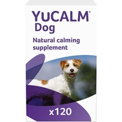 Lintbells Yucalm Calming Supplement For Dogs 120 Tablets
