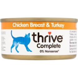 Thrive Complete Chicken And Turkey Food For Cats 75G