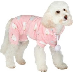 Urban Pup Baby Pink Counting Sheep Dog Onesie X Large found on Bargain Bro UK from Pets at Home