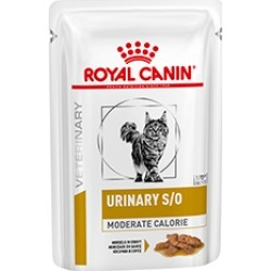Royal Canin Vet Diet Feline Urinary So Moderate Calorie Gravy Cat Food 48 X 85G found on Bargain Bro UK from Pets at Home