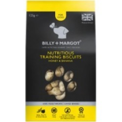 Billy Margot Honey And Banana Nutritious Dog Training Biscuits 125G