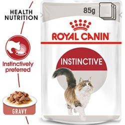Royal Canin Instinctive In Gravy Cat Food 48X85G Bulk Pack found on Bargain Bro UK from Pets at Home