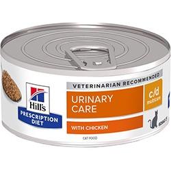 Hill's Prescription Diet C/D Feline Multicare Cat Food 24X156G