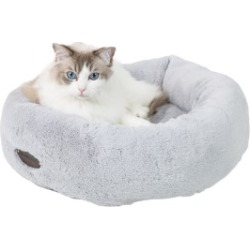 Wainwright's Donut Cat Bed Grey found on Bargain Bro UK from Pets at Home